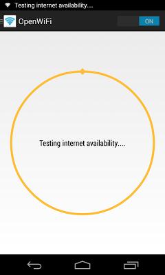 OpenWiFi - Open AP Connector - screenshot