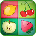 Fruits Matching Game for Kids icon