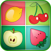Fruits Matching Game for Kids