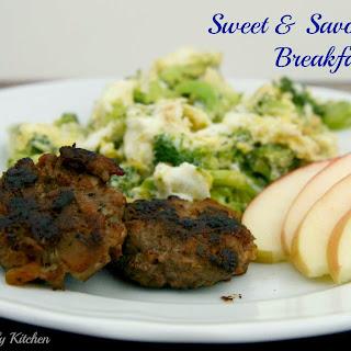 Sweet & Savory Pork Breakfast Bites