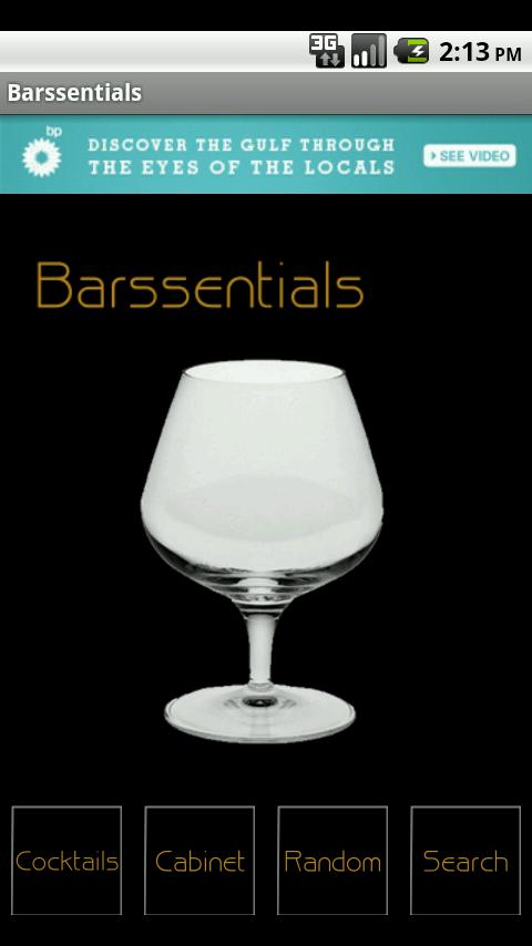 Barssentials- screenshot