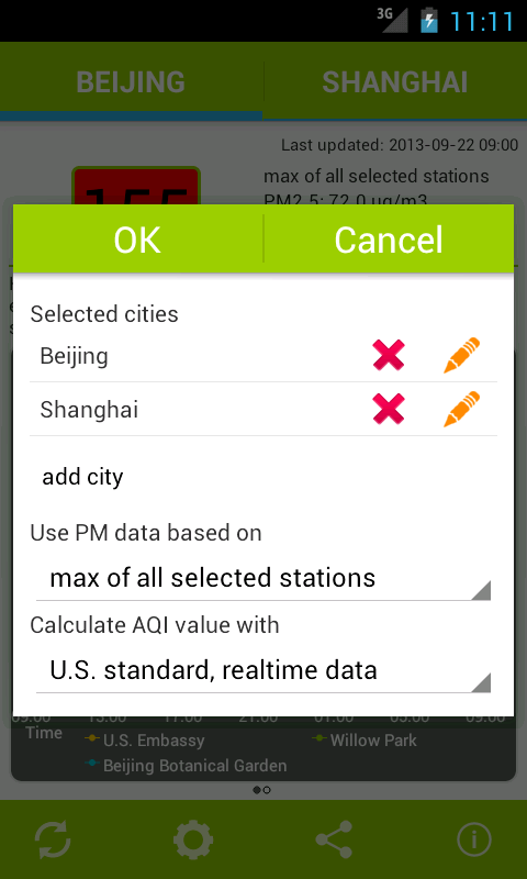 Air Quality China- screenshot