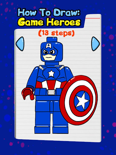 How To Draw: Game Heroes