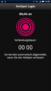 HotSpot Login - screenshot thumbnail