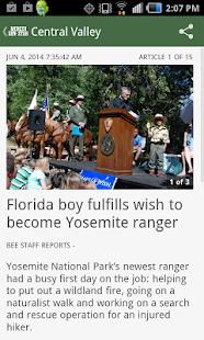 Merced Sun-Star, CA newspaper - screenshot thumbnail
