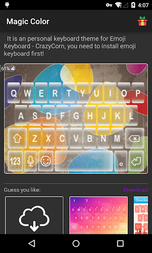 Emoji Keyboard - Color Magic