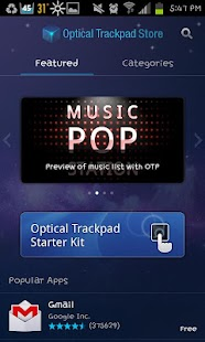 Optical Trackpad Store - screenshot thumbnail