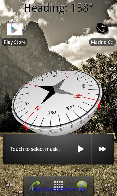 Marine Compass - White - screenshot