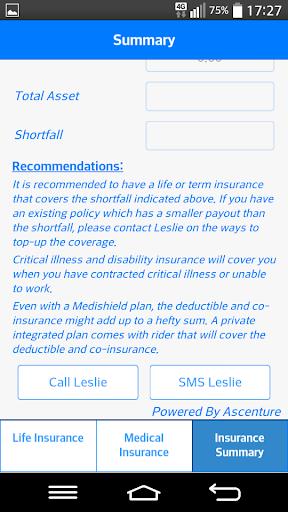 Leslie Insurance Calculator