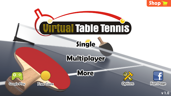 Download Virtual Table Tennis For PC Windows and Mac apk screenshot 2