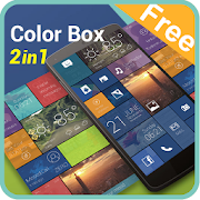 App (FREE) Color Box 2 In 1 Theme APK for Windows Phone