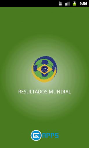 Resultados Mundial de Futbol