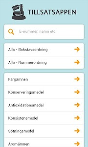 Tillsatsappen screenshot 0