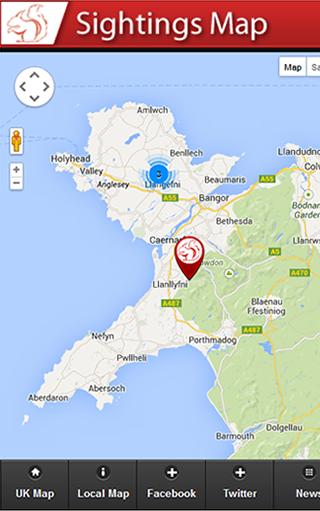 Squirrel Location Map