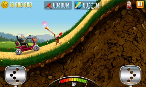 Игра Angry Gran Racing для планшетов на Android