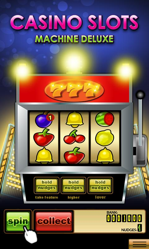 Casino Slots Machine Deluxe- screenshot