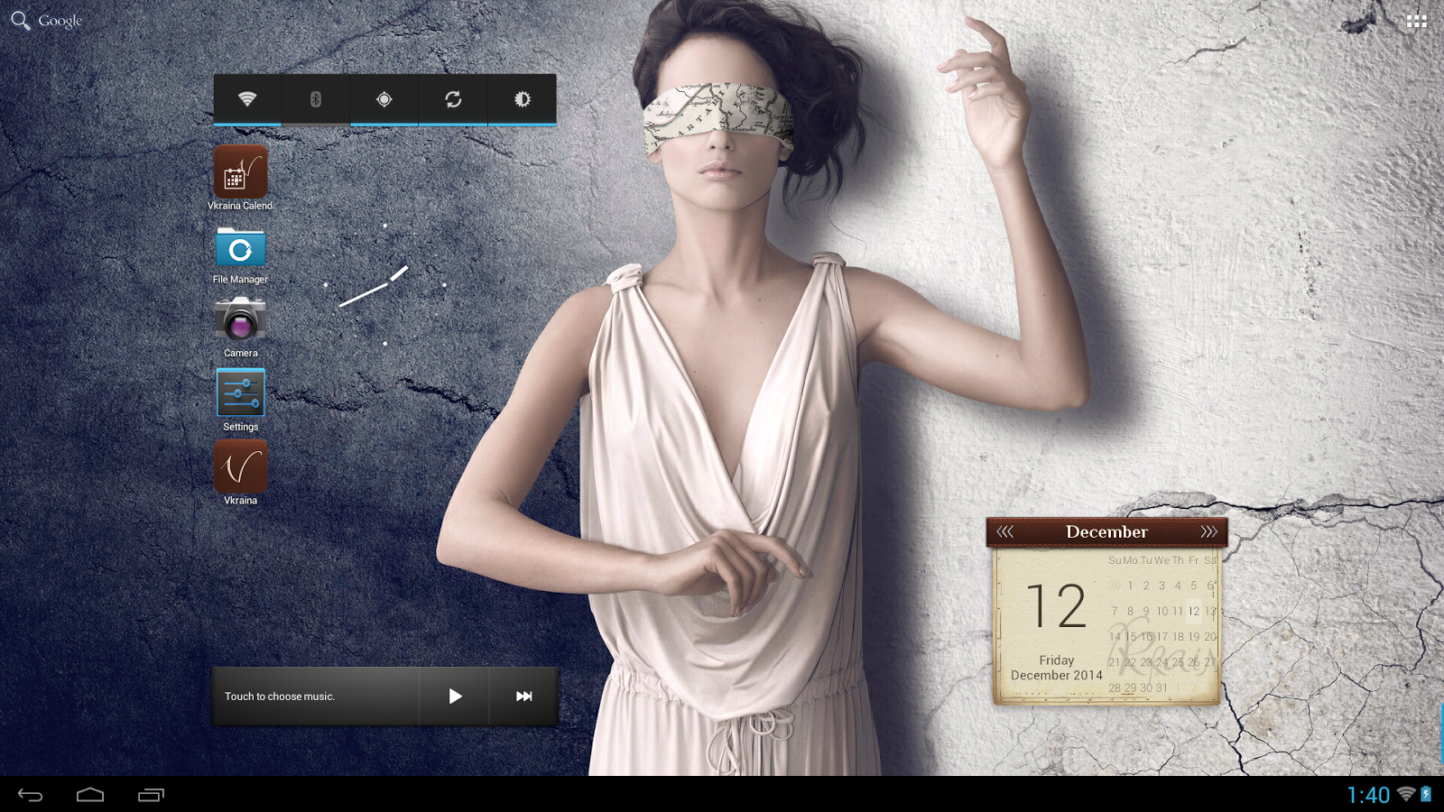 Vkraina Calendar 2015- screenshot