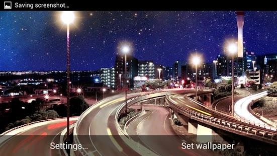 Night City Live Wallpaper HD Screenshot Thumbnail
