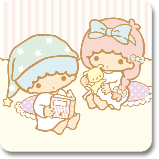 个人化のキキ&ララきせかえホーム(TS33) LOGO-記事Game