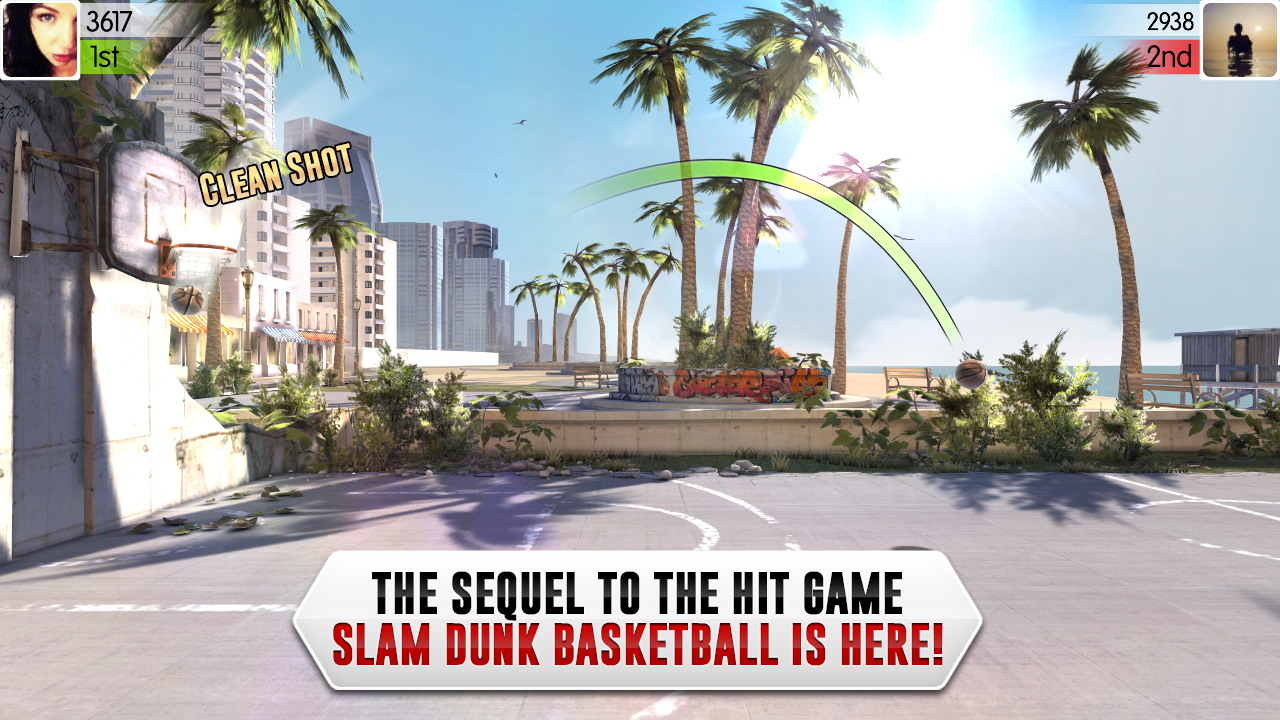 Slam Dunk Basketball 2- screenshot