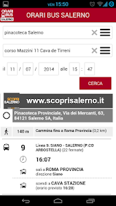 Orari Bus Salerno screenshot 2