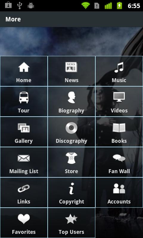 The Official Ozzy Osbourne App - screenshot