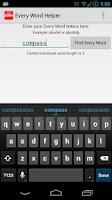 Screenshot of Every Word Helper