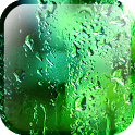 Green Rain Droplets LWP icon