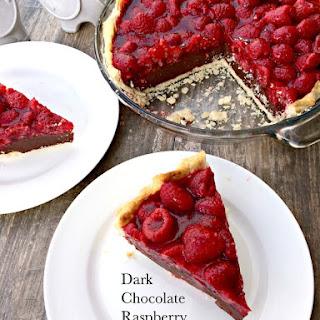 Dark Chocolate Raspberry Pie Recipe