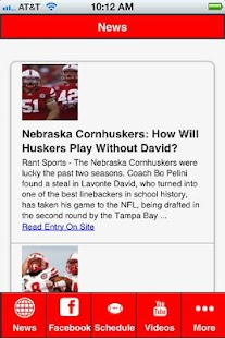 Nebraska Football - screenshot thumbnail