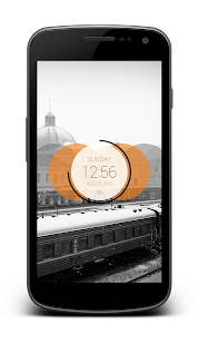 Circles Clock - UCCW Skin - screenshot thumbnail