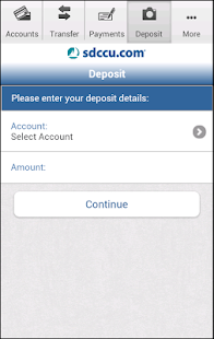 SDCCU Mobile Banking - screenshot thumbnail