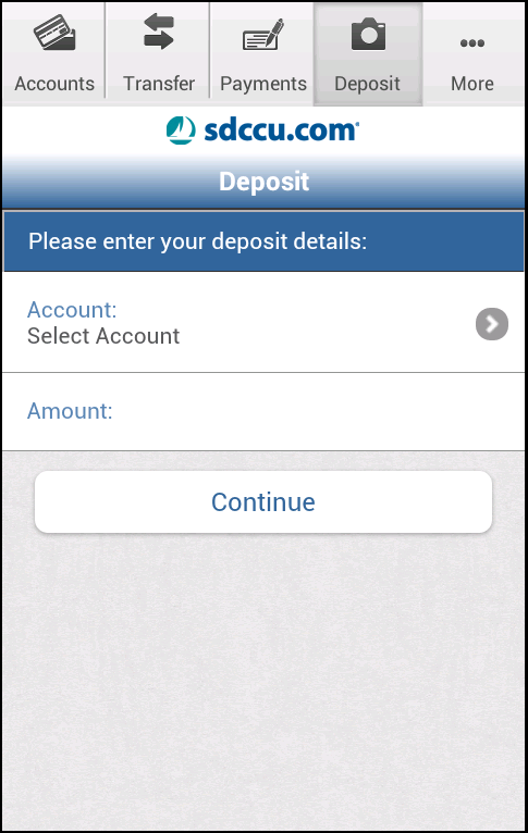 SDCCU Mobile Banking - screenshot