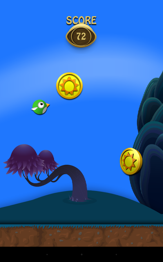 Clumsy birds- screenshot