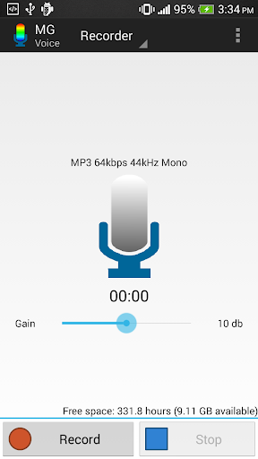 MG Voice Recorder Key