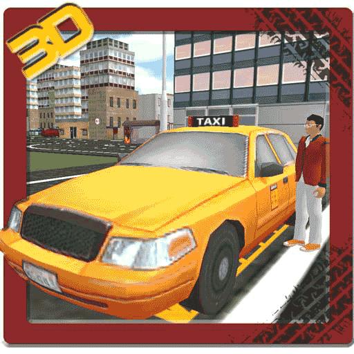瘋狂的出租車司機3D責任 模擬 LOGO-玩APPs