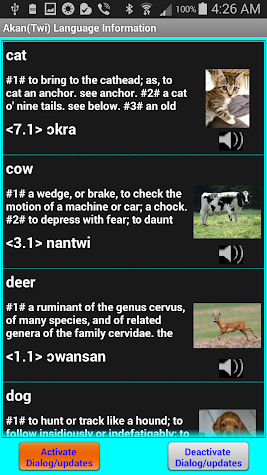 Speak/Write Akan(twi) Language Screenshot