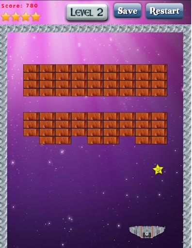 Space Breaking bricks