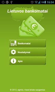 Lietuvos bankomatai - screenshot thumbnail