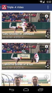 MiLB First Pitch - screenshot thumbnail