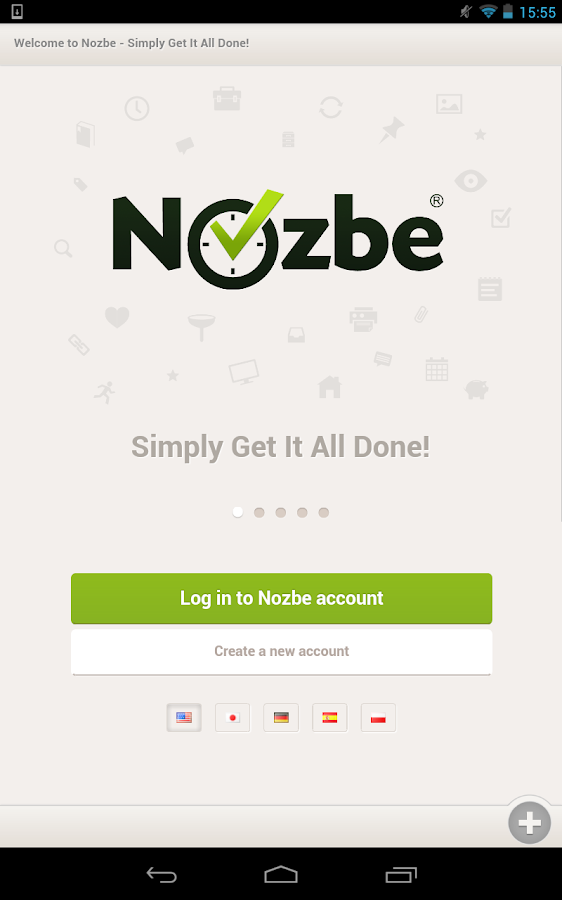 Nozbe HD for Tablets - screenshot
