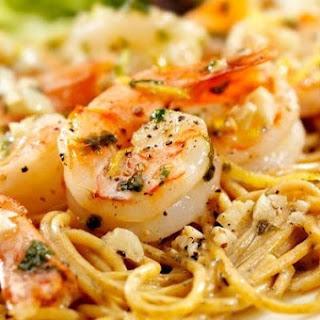 Zesty Shrimp Scampi.