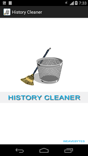 History Cleaner