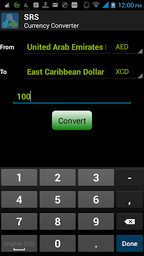 SRS Currency Converter