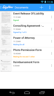 SignNow Sign & Fill Documents - screenshot thumbnail