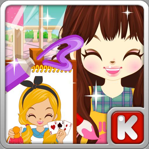 쥬디의 색칠공부2 - 어린 여자 아이 게임 休閒 App LOGO-APP開箱王