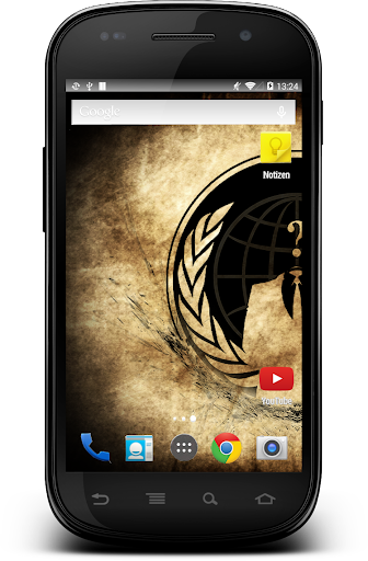 Screenshot for Anonymous Hacker Wallpaper in United States Play Store