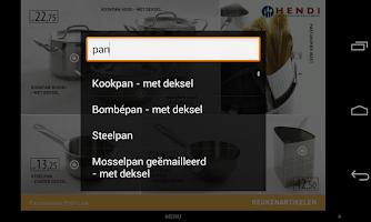 Screenshot of HENDI NL