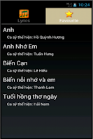 Screenshot of Loi bai hat - Lời bài hát