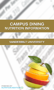 Nutrition - Vanderbilt - screenshot thumbnail